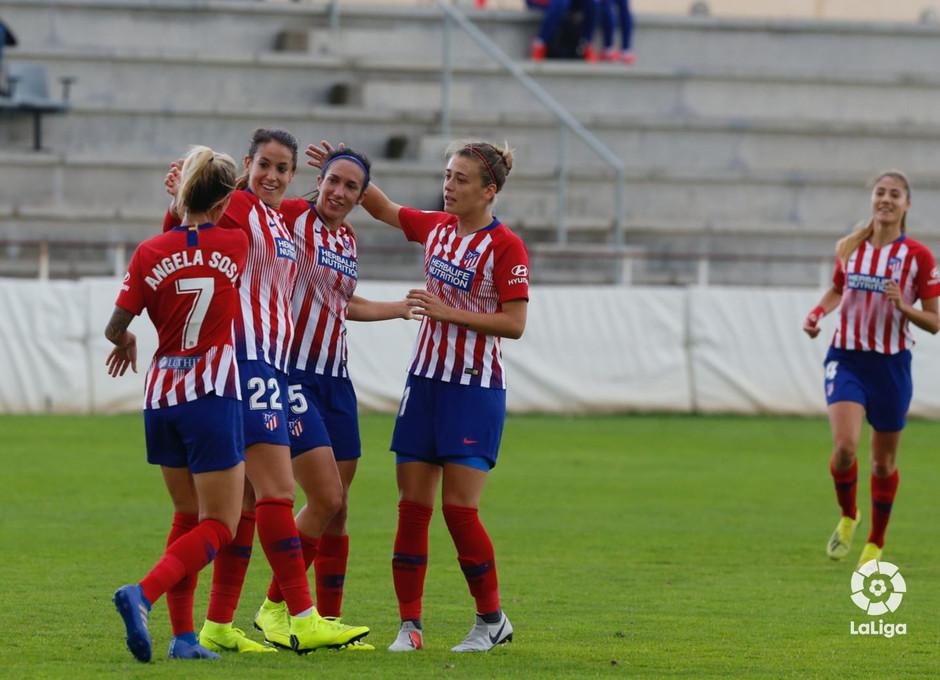 Temporada 2018-2019 | Fundación Albacete - Atlético de Madrid | Celebración gol Meseguer