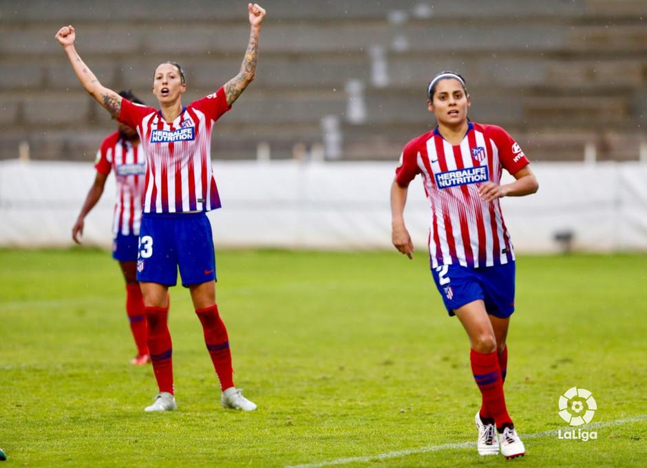 Temporada 2018-2019 | Fundación Albacete - Atlético de Madrid | Jenni Hermoso y Kenti