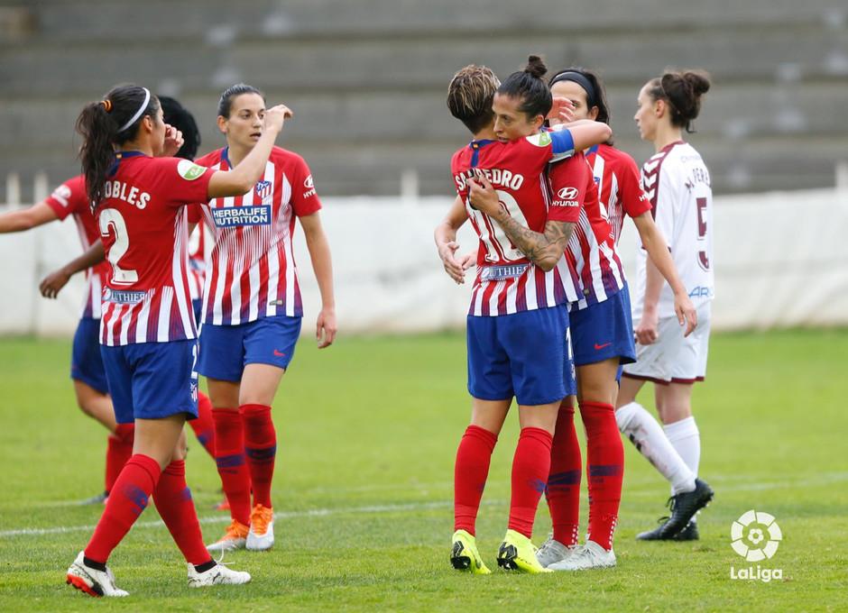 Temporada 2018-2019 | Fundación Albacete - Atlético de Madrid | Celebración
