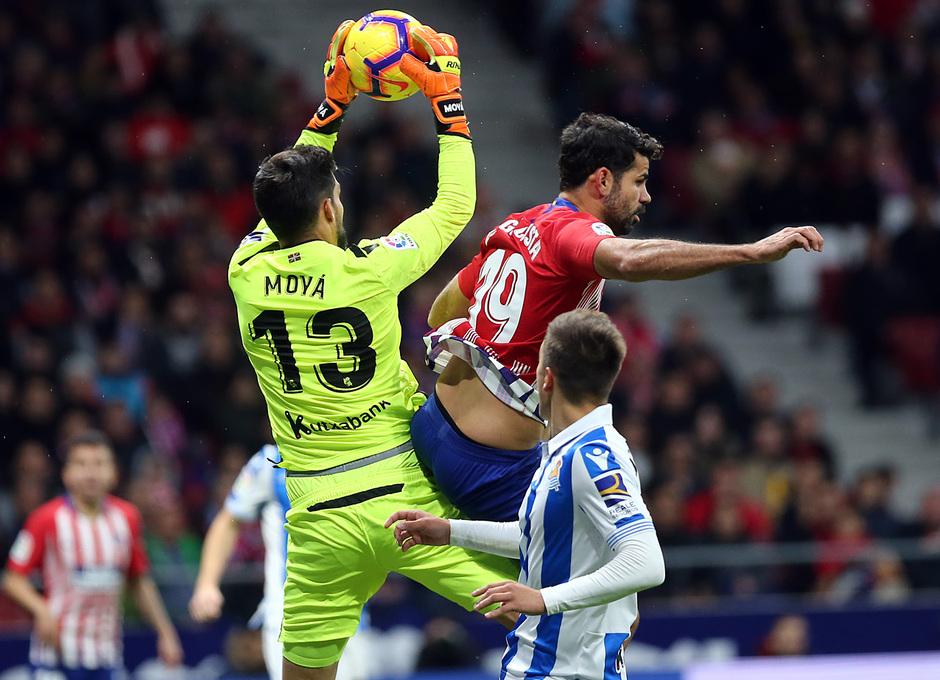 Temporada 2018-2019 | Atlético de Madrid - Real Sociedad | Diego Costa