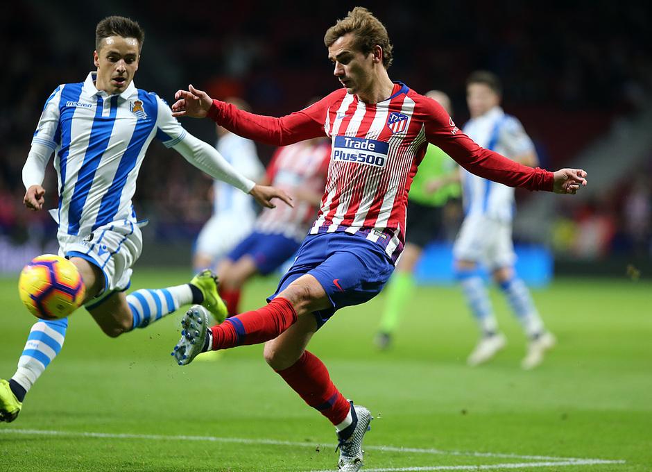 Temporada 2018-2019 | Atlético de Madrid - Real Sociedad | Griezmann