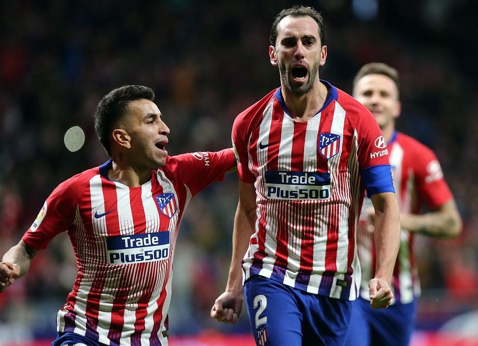 Temporada 2018-2019 | Atlético de Madrid - Real Sociedad | Godín