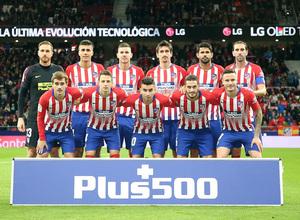 Temporada 18/19 | Atlético de Madrid - Real Sociedad | Once