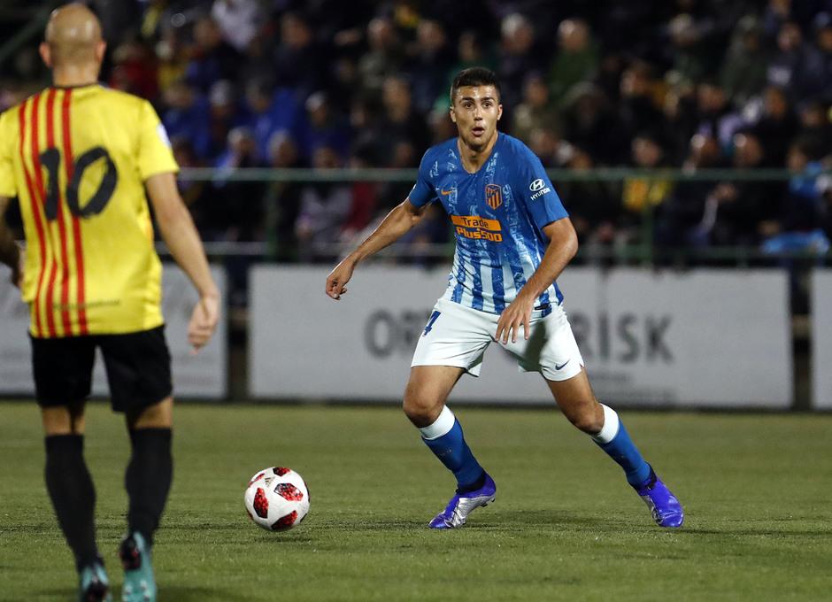 Temporada 18/19   Sant Andreu - Atleti   Copa del Rey   Rodrigo