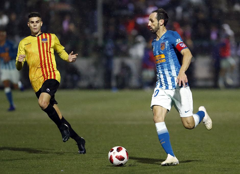 Temporada 18/19   Sant Andreu - Atleti   Copa del Rey   Juanfran