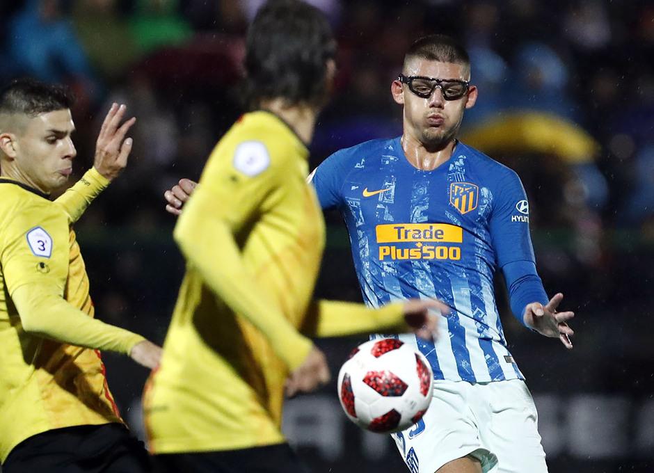 Temporada 18/19   Sant Andreu - Atleti   Copa del Rey   Montero
