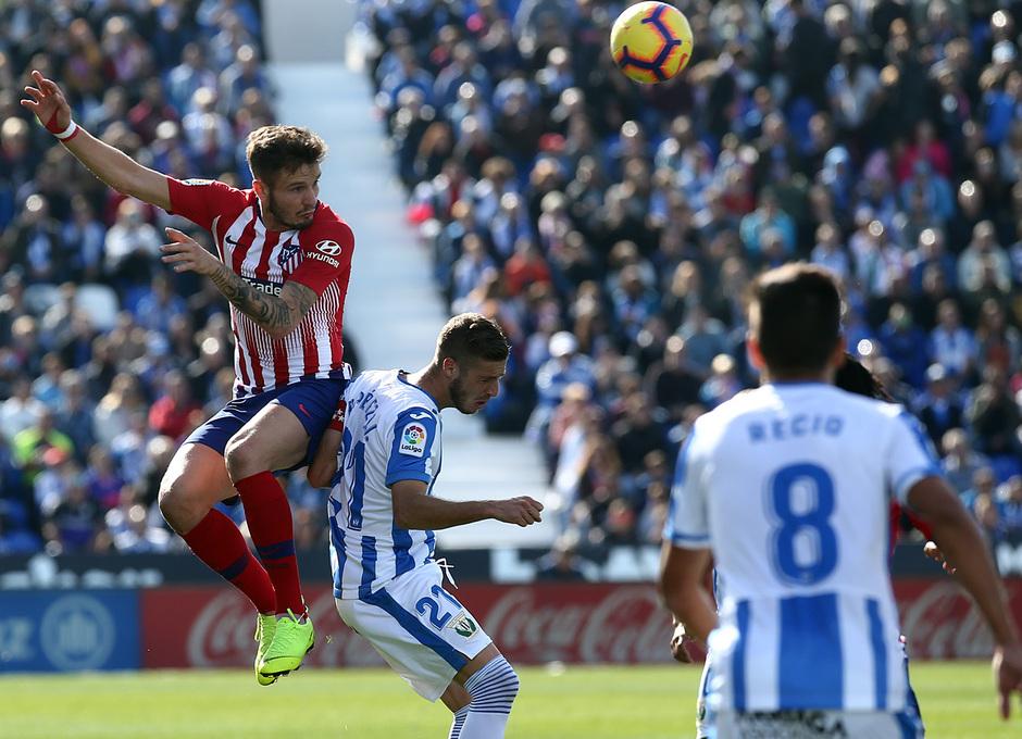 Temporada 2018-2019   Leganés - Atlético de Madrid   Saúl