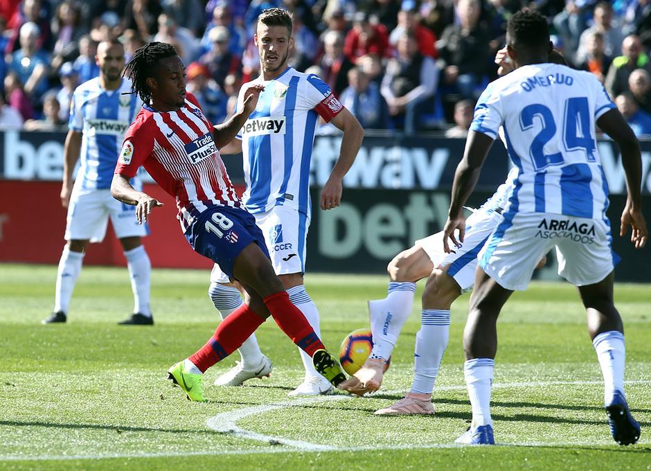 Temporada 2018-2019   Leganés - Atlético de Madrid   Gelson