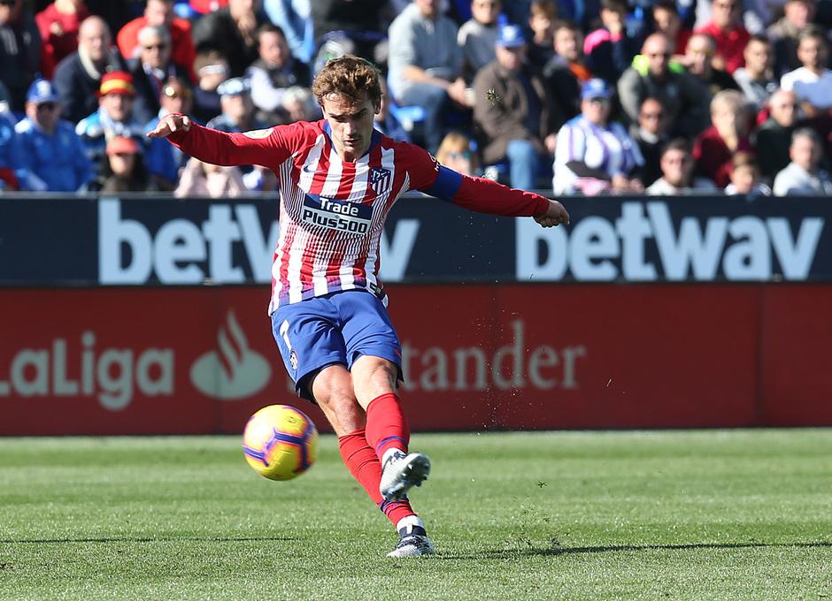Temporada 2018-2019   Leganés - Atlético de Madrid   Griezmann