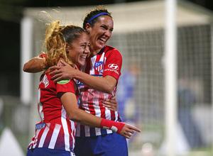 Temp. 18-19 | Atlético de Madrid Femenino-Levante UD. Laia y Meseguer