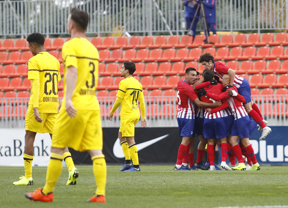 Temporada 18/19 | Atlético de Madrid - Borussia Dortmund | Youth League | Celebración