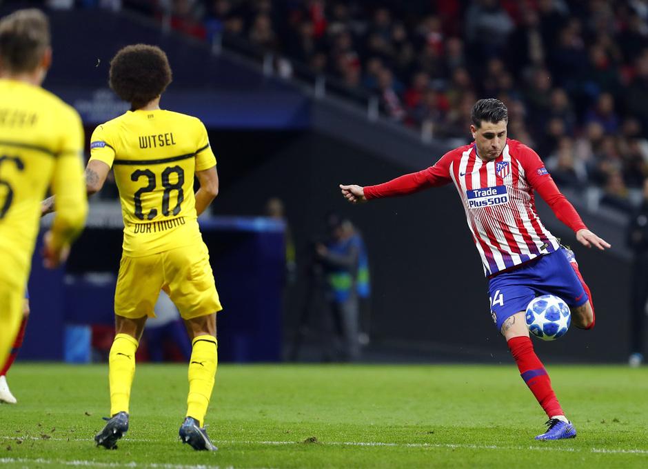 Temporada 2018-2019 | Atlético de Madrid - Dortmund | Giménez