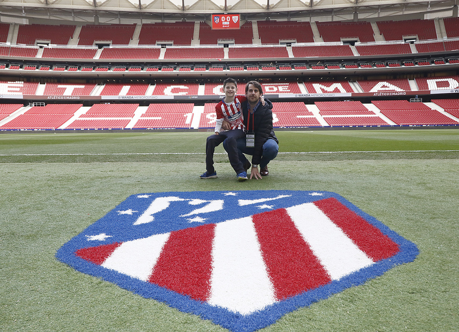 Temporada 18/19 | Atlético de Madrid - Athletic Club | Visita de Manu Oppenheimer