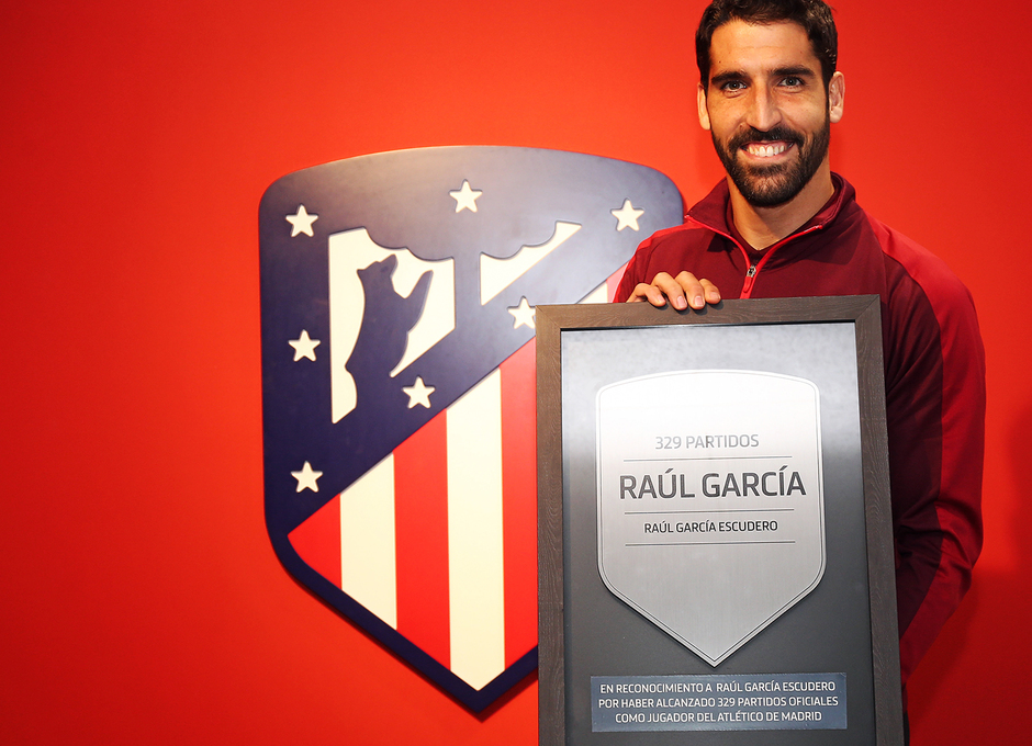 Temp. 18-19 | Atlético de Madrid - Athletic Club | Homenaje Raúl García