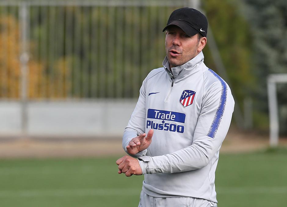 Temp. 18-19 | Entrenamiento de la Ciudad Deportiva Wanda | Simeone