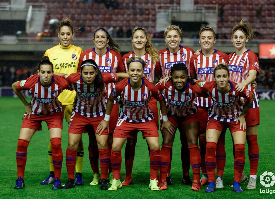 Temporada 2018-2019 | FC Barcelona - Atlético de Madrid Femenino | Once