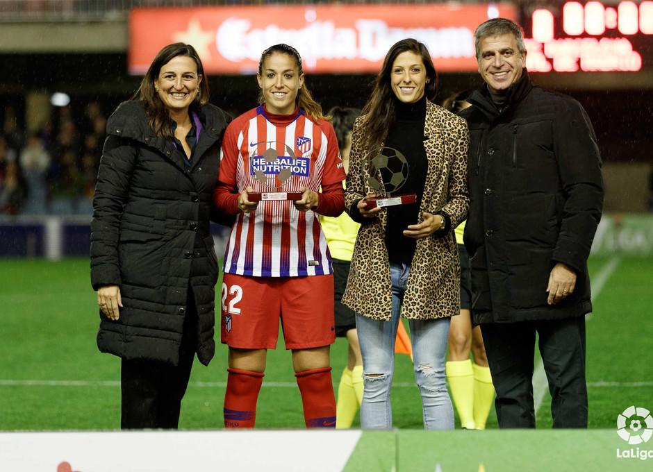 Temporada 2018-2019 | FC Barcelona - Atlético de Madrid Femenino | Homenaje Jenni y Olga