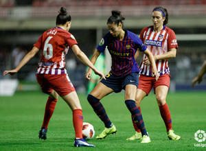 Temporada 2018-2019 | FC Barcelona - Atlético de Madrid Femenino | Kaci y Meseguer