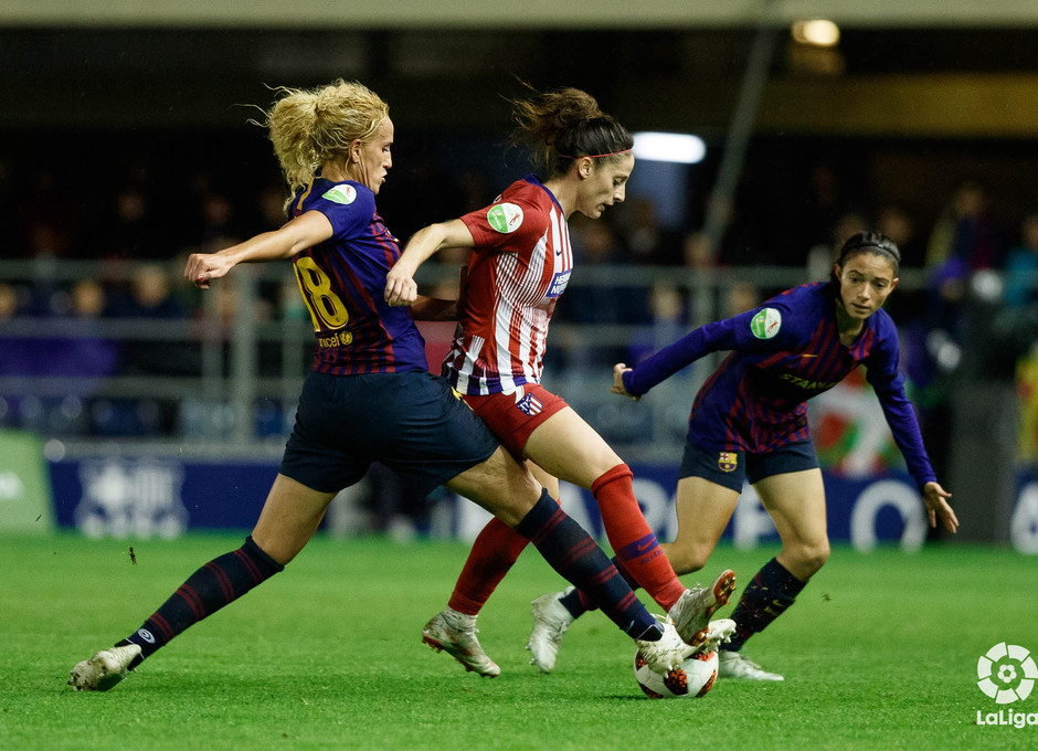 Temporada 2018-2019 | FC Barcelona - Atlético de Madrid Femenino | Esther