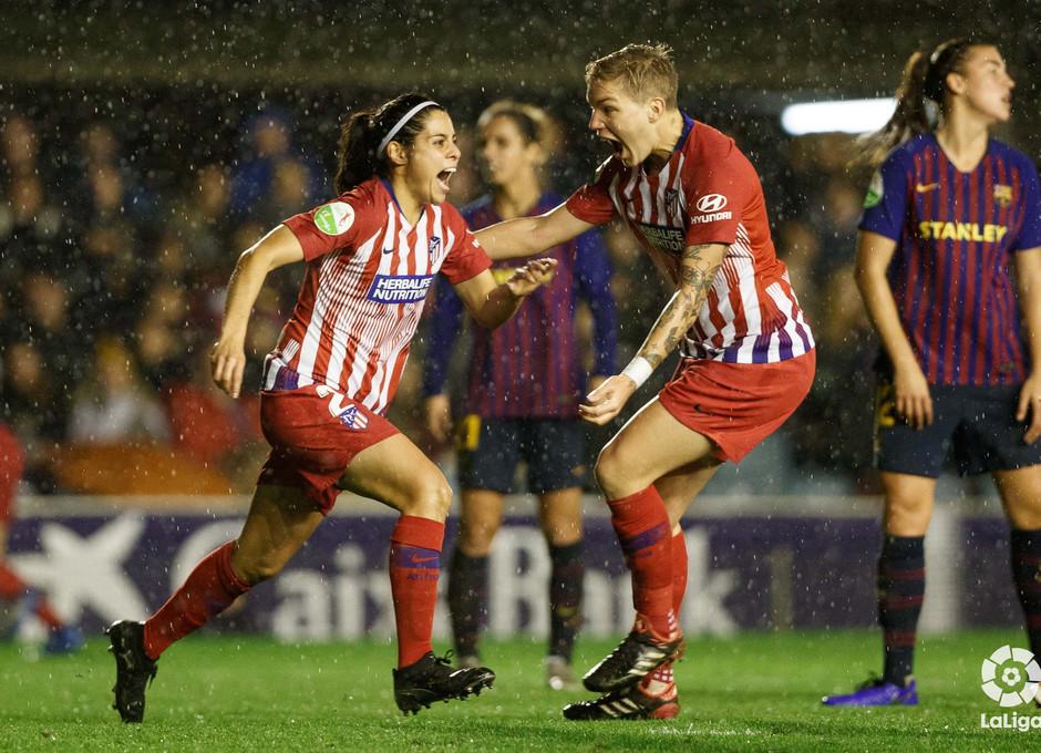 Temporada 2018-2019 | FC Barcelona - Atlético de Madrid Femenino | Kenti y Linari
