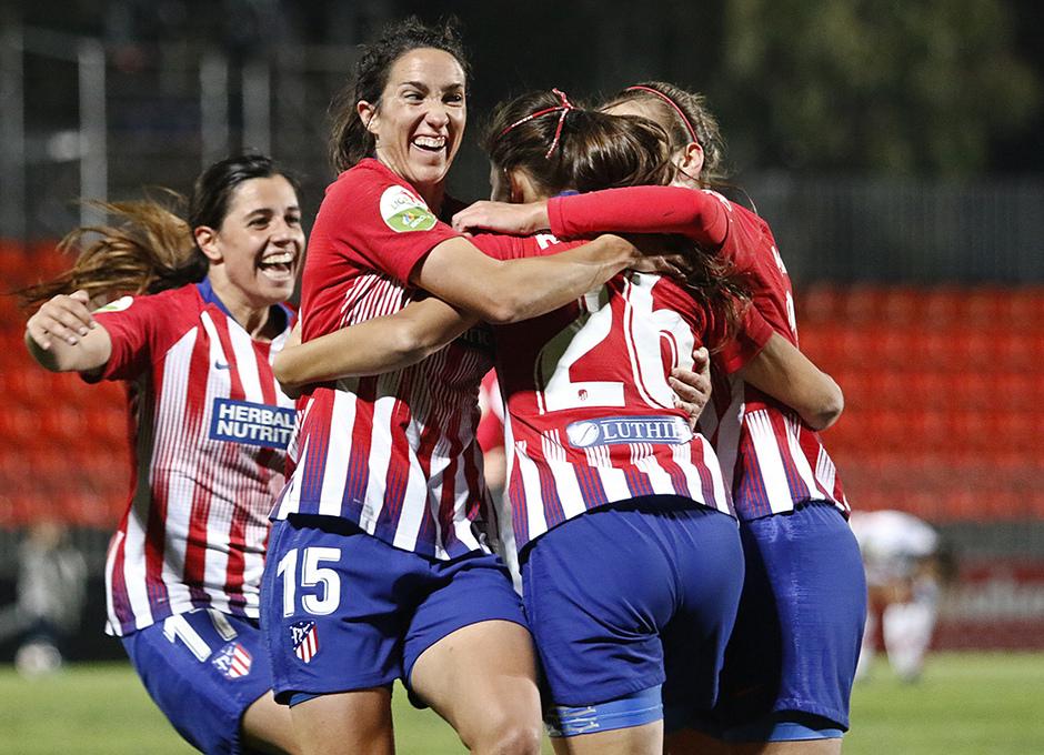 Temporada 2018-2019 | Atlético de Madrid Femenino - Rayo Majadahonda | Celebración Gol Anita Marcos
