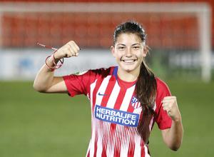 Temporada 2018-2019   Atlético de Madrid Femenino - Rayo Vallecano   Ana Marcos