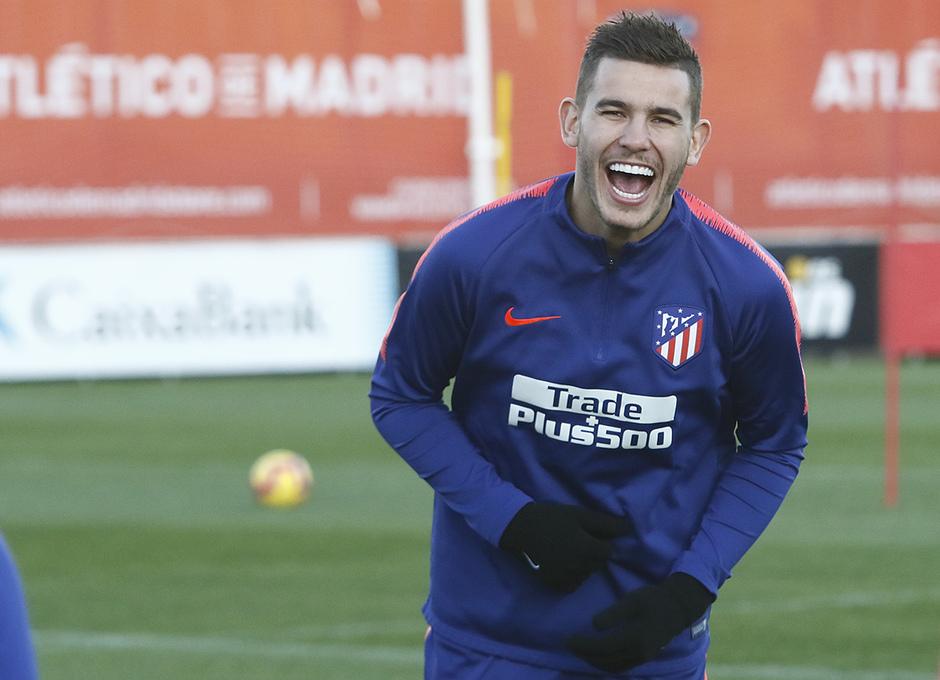 Temporada 18/19 | 23/11/2018 | Entrenamiento en la Ciudad Deportiva Wanda | Lucas