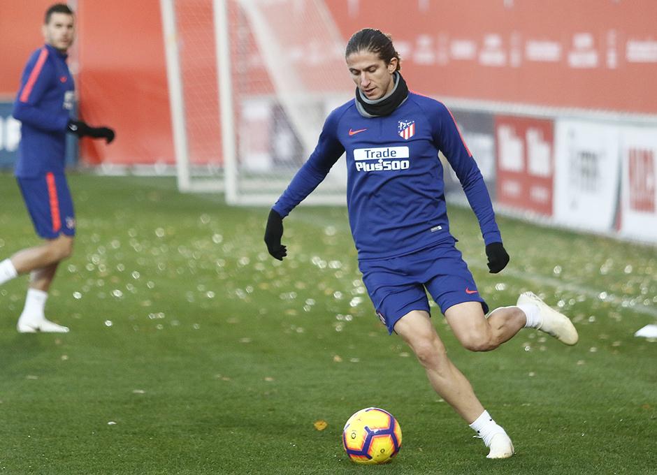 Temporada 18/19 | 23/11/2018 | Entrenamiento en la Ciudad Deportiva Wanda | Filipe Luis