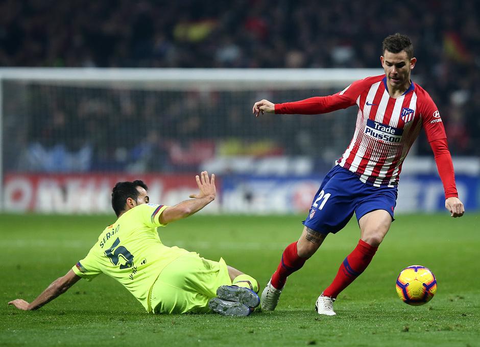 Temporada 2018-2019 | Atlético de Madrid - FC Barcelona | Lucas