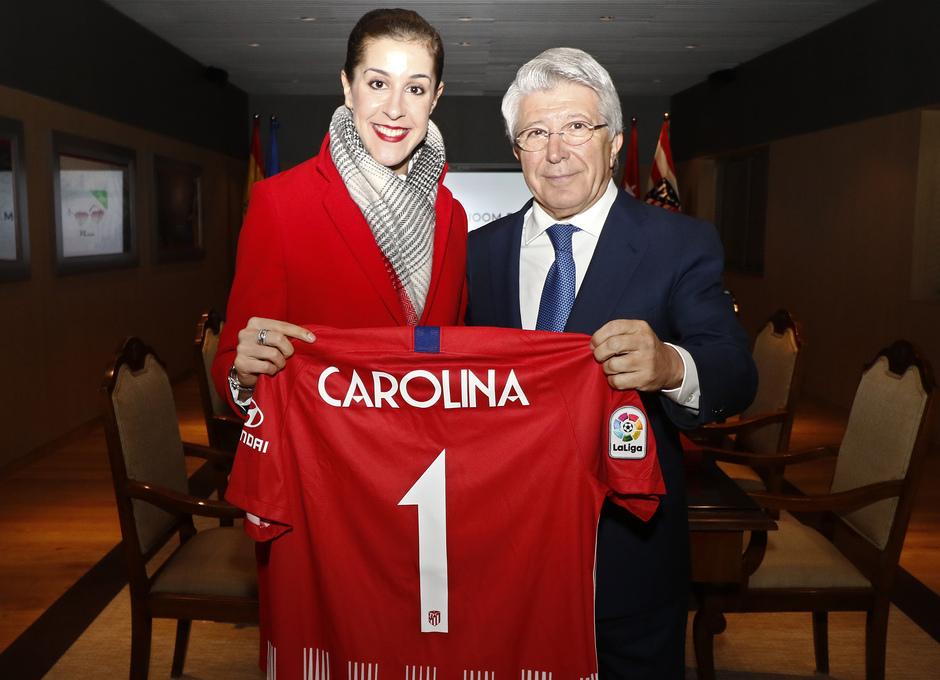 Temporada 2018-2019 | Atlético de Madrid - FC Barcelona | Enrique Cerezo y Carolina Marín
