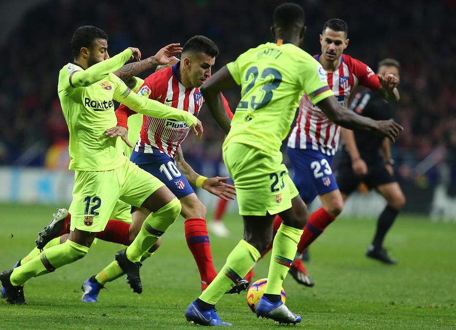 Temporada 2018-2019 | Atlético de Madrid - FC Barcelona | Correa