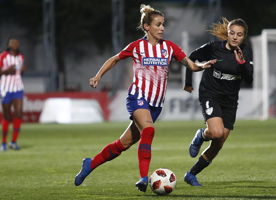 Temporada 18/19 | Atlético de Madrid Femenino - Málaga | Sosa