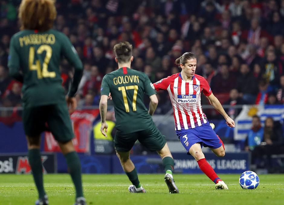 Temp. 18-19 | Atlético de Madrid - Mónaco | Filipe