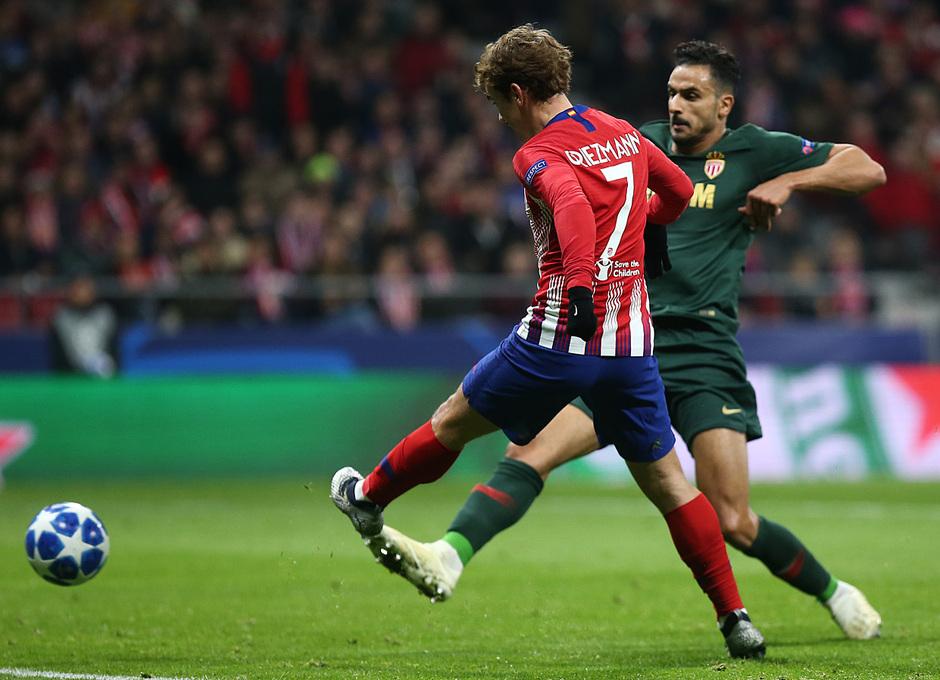 Temporada 18/19 | Atlético de Madrid - Mónaco | Griezmann