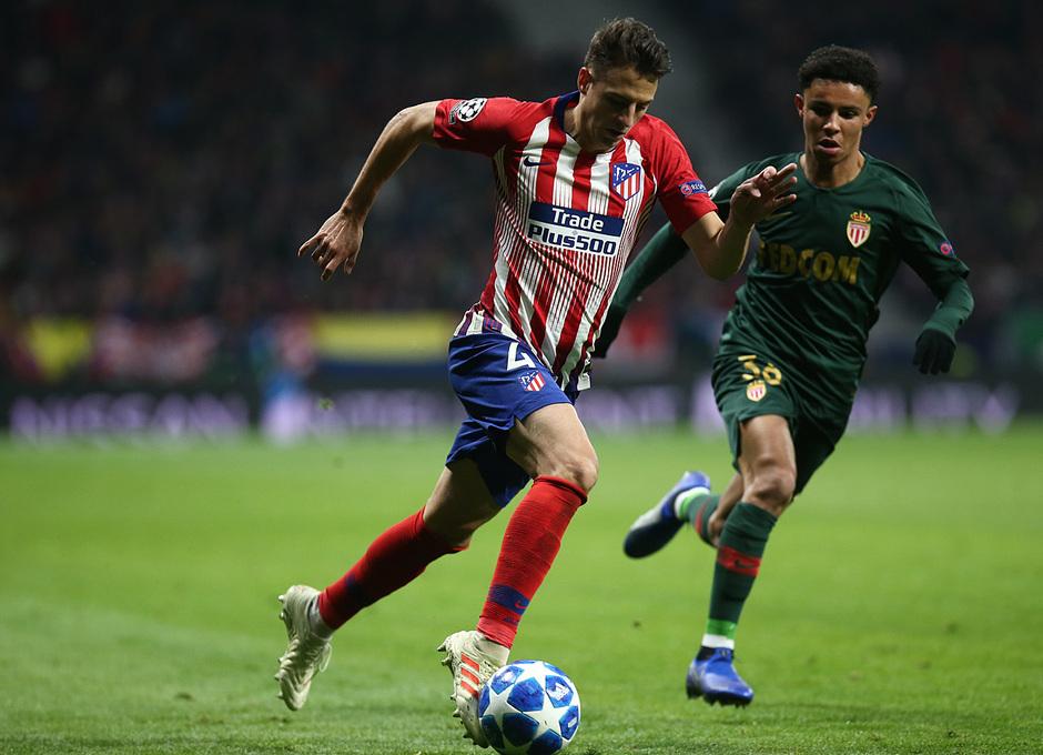 Temporada 18/19   Atlético de Madrid - AS Mónaco   Arias