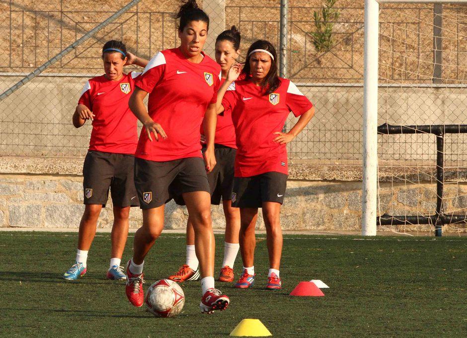 Temporada 2013-2014. Marta Carro realizando ejercicios de velocidad