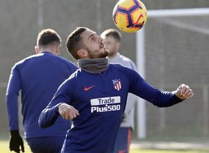 Temporada 18/19 | Entrenamiento en la Ciudad Deportiva Wanda | 30/11/2018 | Koke