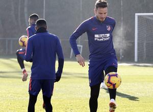 Temporada 18/19 | Entrenamiento en la Ciudad Deportiva Wanda | 30/11/2018 | Saúl