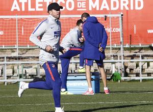 Temporada 18/19 | Entrenamiento en la Ciudad Deportiva Wanda | 30/11/2018 | Simeone