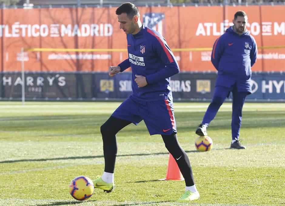Temporada 18/19 | Entrenamiento en la Ciudad Deportiva Wanda | 30/11/2018 | Kalinic