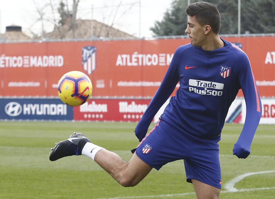 Temporada 2018-2019   Entrenamiento Ciudad Deportiva Wanda   Rodrigo