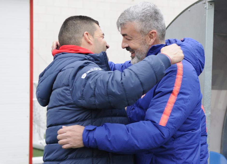 Temp 2018-2019 | Sanse - Atlético de Madrid B | Manolo Cano y Óscar Fernández