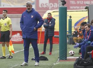 Temp 2018-2019   Sanse - Atlético de Madrid B   Óscar Fernández
