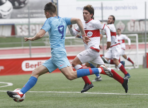 Temp 2018-2019   Sanse - Atlético de Madrid B   Borja Garcés