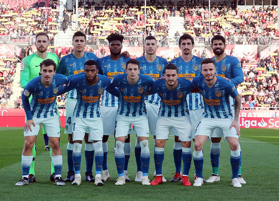 Temporada 2018-2019 | Girona - Atlético de Madrid | Once