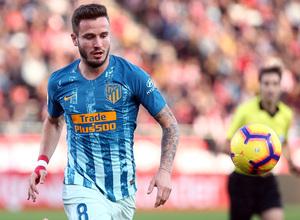 Temporada 2018-2019 | Girona - Atlético de Madrid | Saúl
