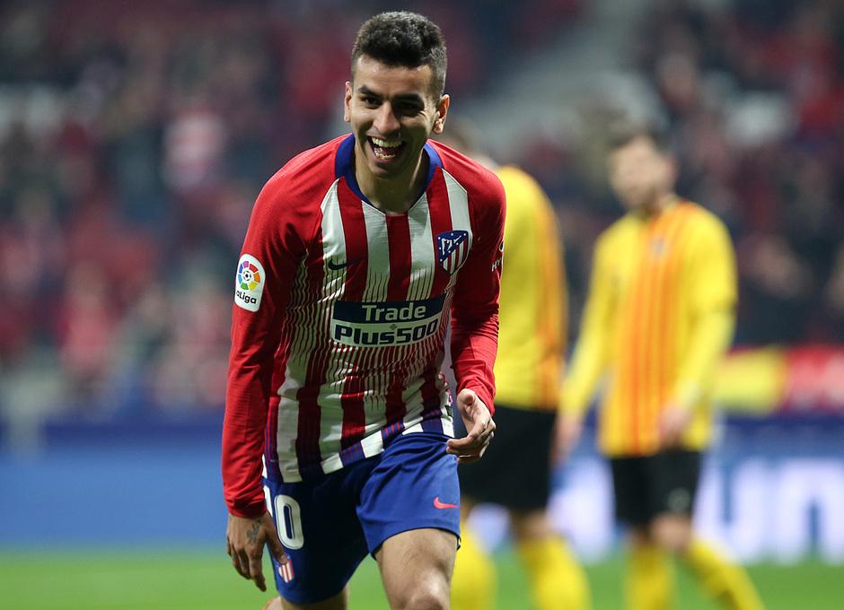 Temporada 18/19 | Atleti - Sant Andreu | celebración gol Correa