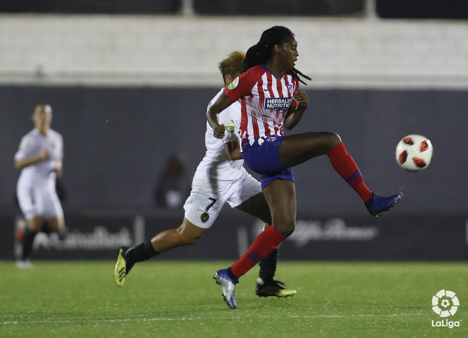 Temporada 2018-2019 | Atlético de Madrid Femenino - Valencia | Tounkara