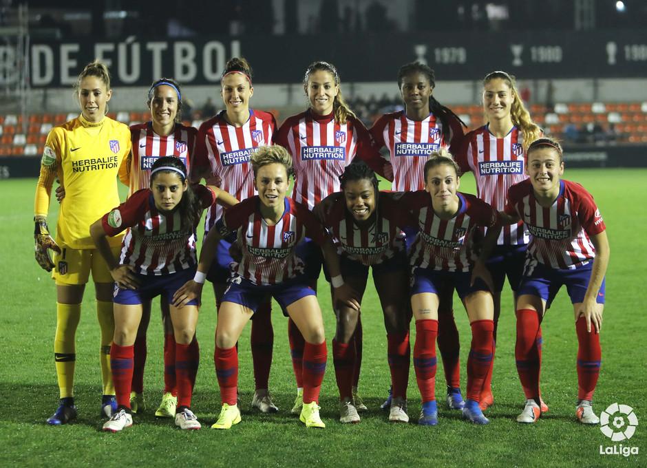 Temporada 2018-2019 | Atlético de Madrid Femenino - Valencia | Once