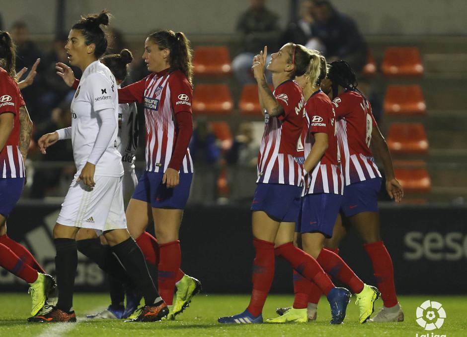 Temporada 2018-2019 | Atlético de Madrid Femenino - Valencia | Ángela Sosa